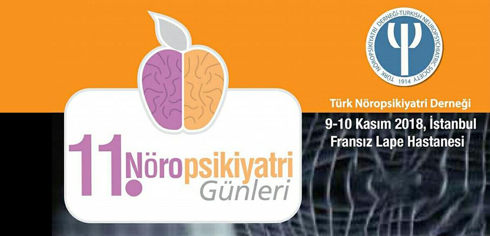 11. Nöropsikiyatri Günleri 8-9 Kasım'da