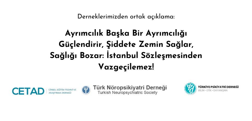 Ayrımcılık Başka Bir Ayrımcılığı Güçlendirir, Şiddete Zemin Sağlar, Sağlığı Bozar: İstanbul Sözleşmesinden Vazgeçilemez!
